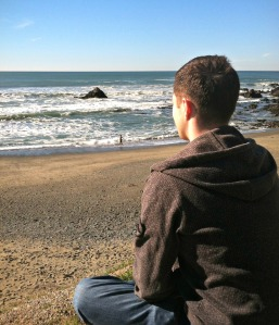 130120 - Dan on Pacifica Beach